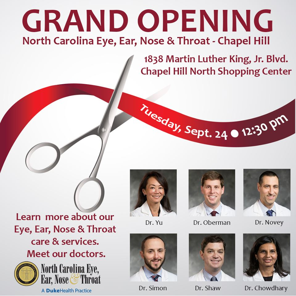 Grand Opening - Chapel Hill