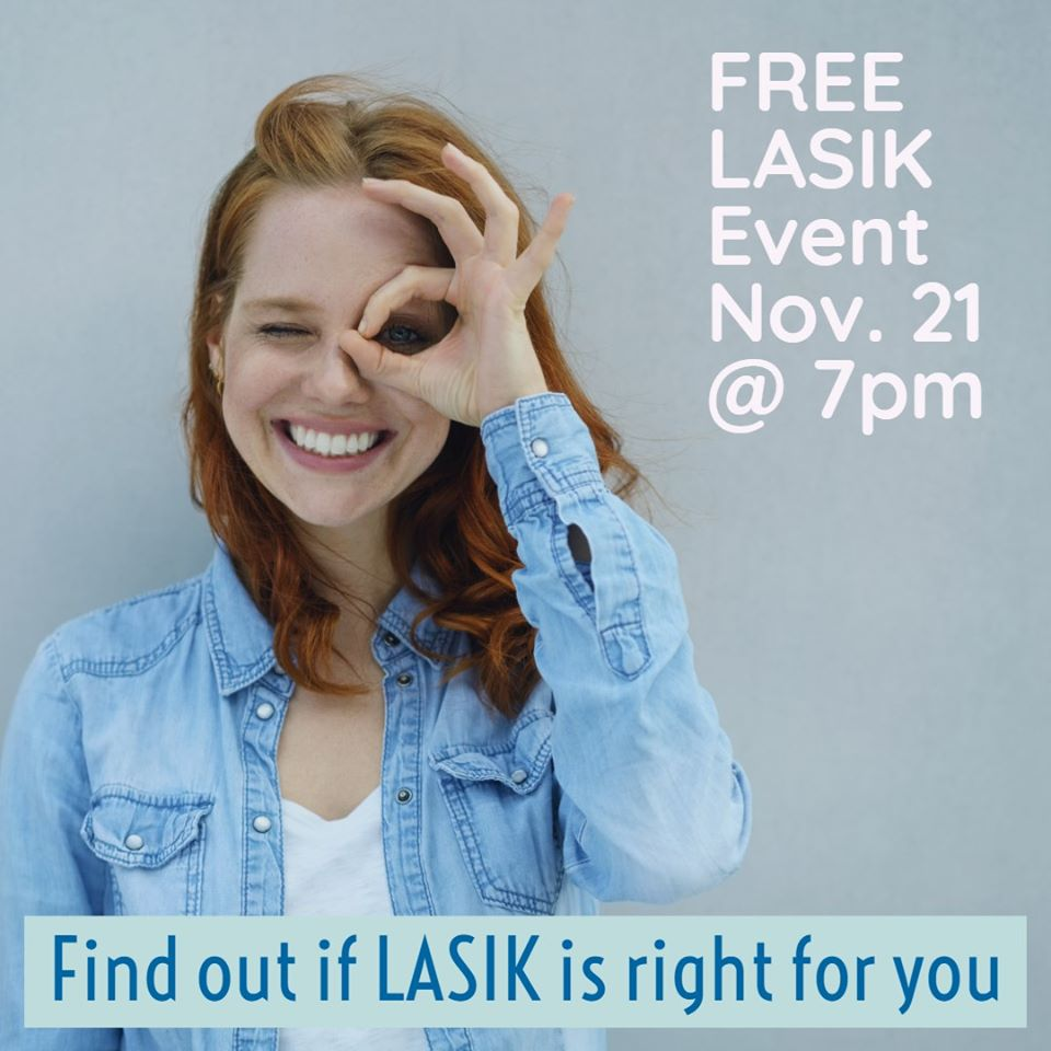 Free LASIK Event Nov. 21