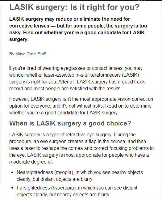 Seeing an Eye Doctor in Durham, NC? Important Facts on LASIK Surgery