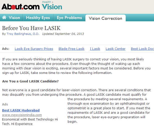 LASIK Surgery in Durham, NC: Enabling People to See Clearly Once Again