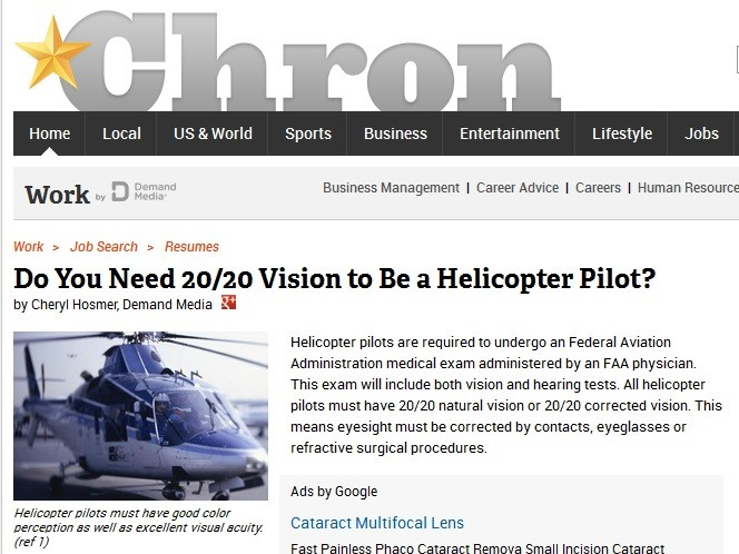 A Clear Path to the Skies: Chopper Vision with LASIK in Durham, NC
