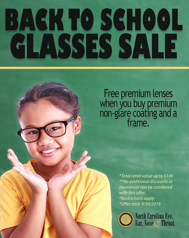 Back to School Glasses Sale